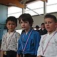 Podium mini samurais 08