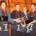 medaille de bronze par équipe - Pauline championne 08