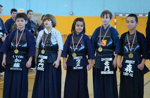 samurais - Saint-Etienne 2014
