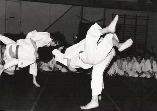 judo années 70